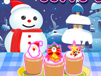 Christmas Cuppy Cake