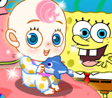 SpongeBob And Patrick Babysit