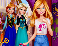 Barbie Trip To Arendelle