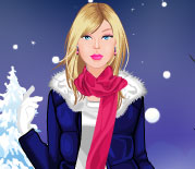 Play Barbie Winter Fashion Dressup at GirlGamey.Com