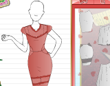 Fashion Studio Valentine Outfit