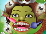 Play Green Monster Dentist Care