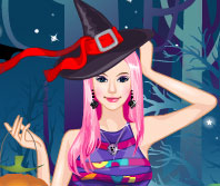 Play Witch Girl Dressup at GirlGamey.Com