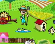 Play Little Farmer at GirlGamey.Com