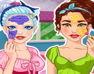 Crystal and Olivia BFF Real Makeover