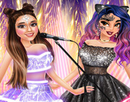 Ariana Concert with Princesses