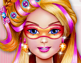 Super Barbie Hair Color